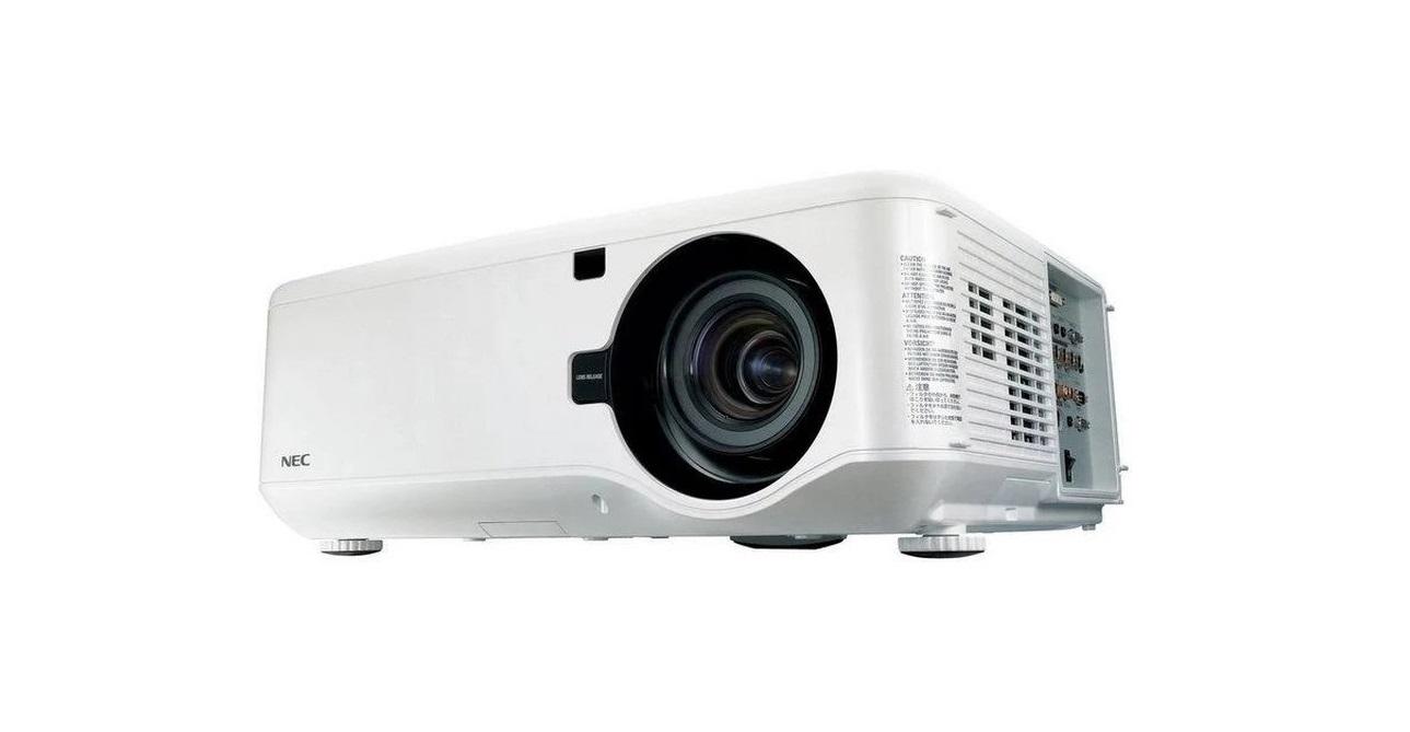 NEC NP4001 WideScreen 720p WXGA 1280x768 4500 ANSI Lumens DLP Professional Projector NP4001