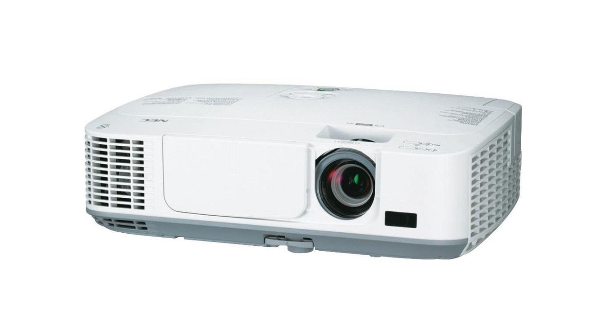 NEC WideScreen 1080p 1280x800 WXGA 2600 Lumens Portable Projector NP-M260W