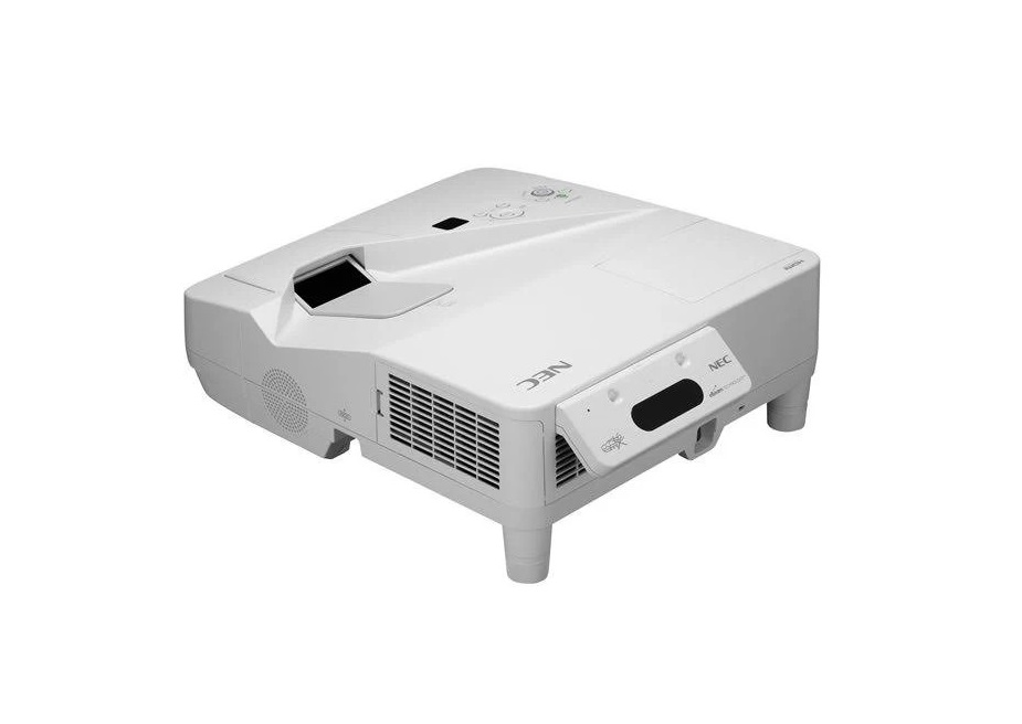 NEC WideScreen 1280x800 WXGA Ultra Short Throw Projector 3300 Lumens NP-UM330W