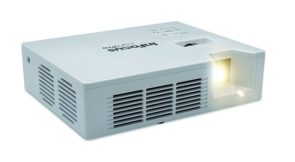 Infocus Lightpro IN1110 Series WXGA 1280x800 1000 Lumens Portable LED Projector IN1146 White