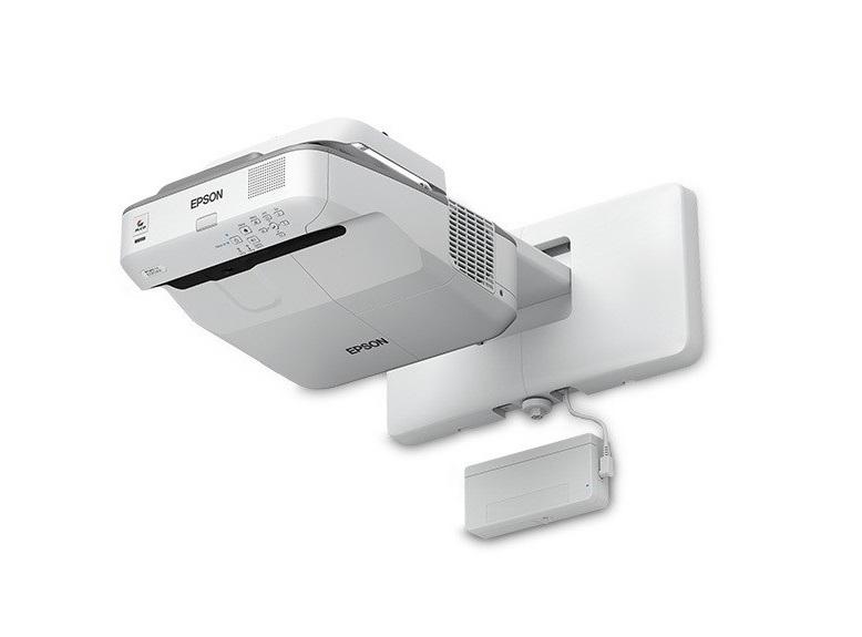 Epson Brightlink 695Wi WXGA 1280x800 3500 Lumens 3LCD Ultra Short-throw Projector V11H740522
