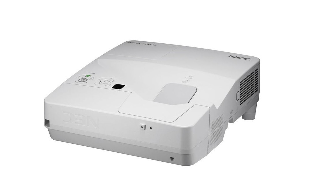 NEC WideScreen 1280x800 WXGA Ultra Short Throw Projector 3500 Lumens NP-UM351W