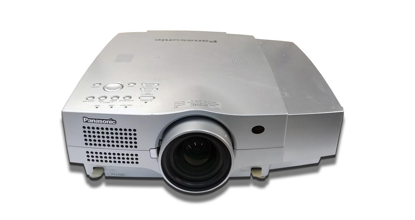 Panasonic L750U 1024x768 2500 Lumens Projector PT-L750U