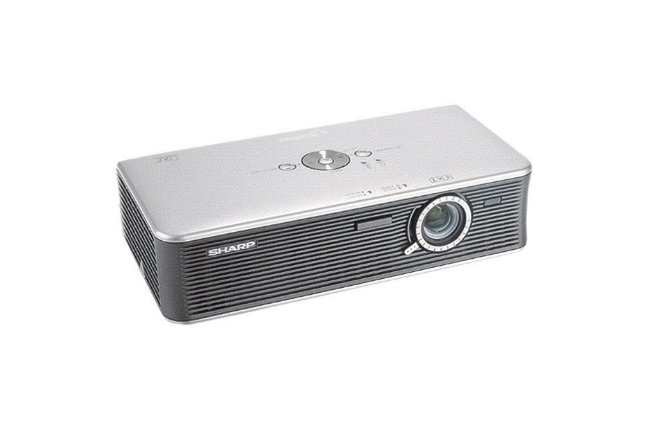 Sharp XR-1X 1024x768 XGA 1200 Lumens Ultra-Portable DLP Projector XR-1X (No Remote Control)