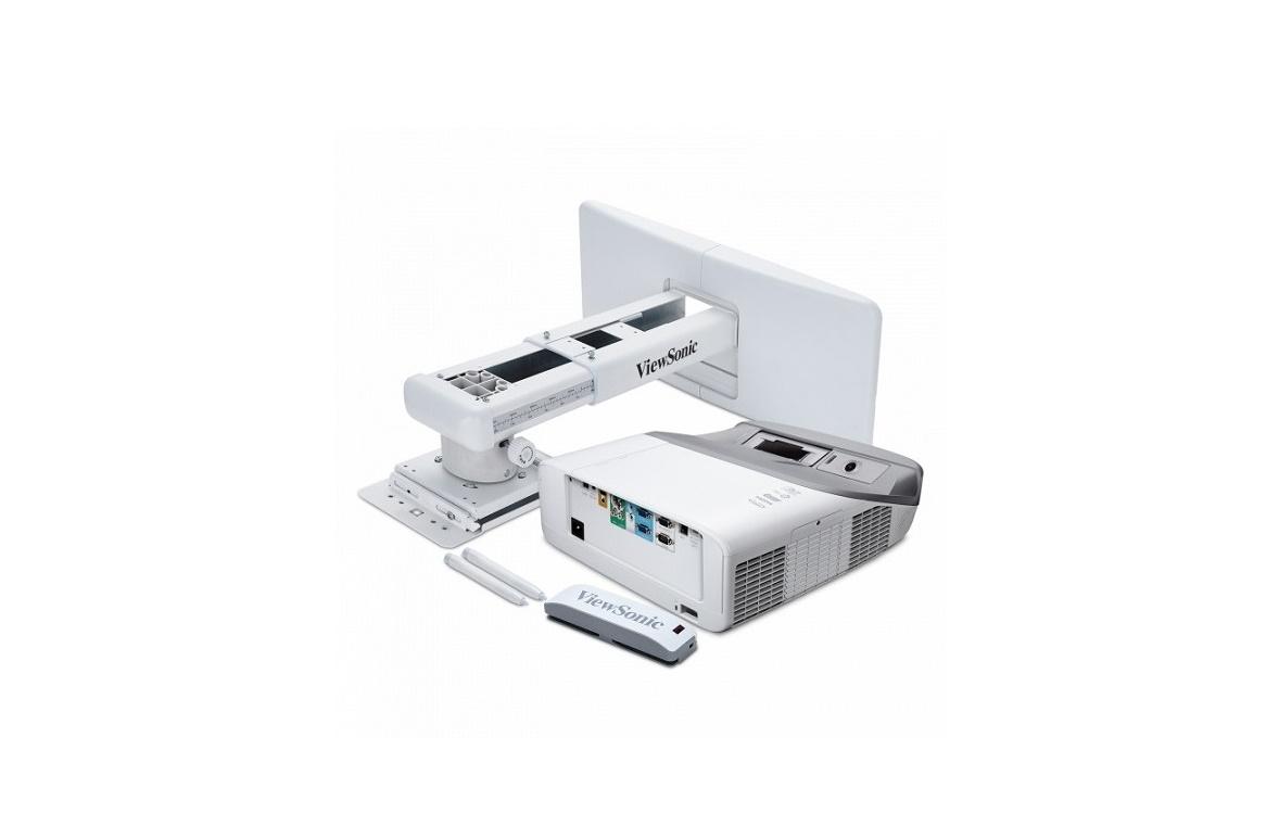 ViewSonic PS750W 1280x800 3300 Lumens HDMI VGA Ultra-Short Throw DLP Projector
