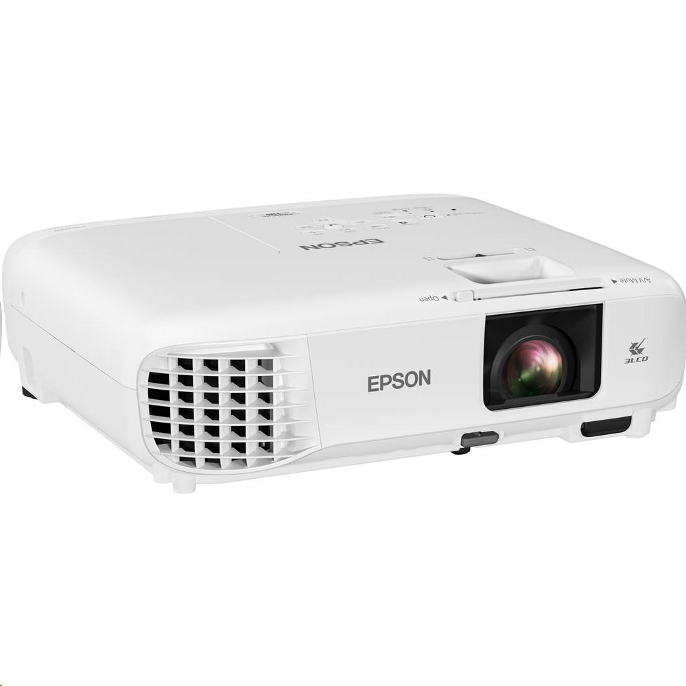 Epson Powerlite 118 3800-Lumen Xga 3LCD Hdmi Vga Projector V11HA03020