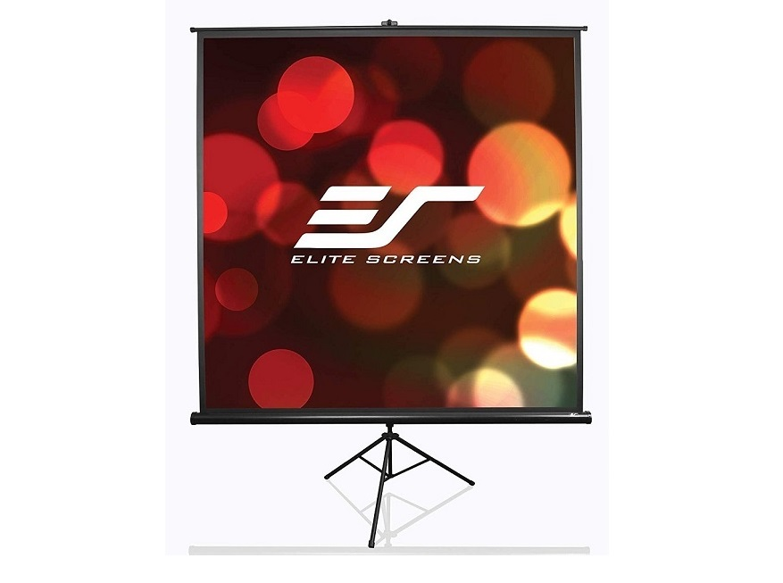 ELite Screens Tripod T84UWV1 Portable Projection Screen 50x67 White 84 Diagonal
