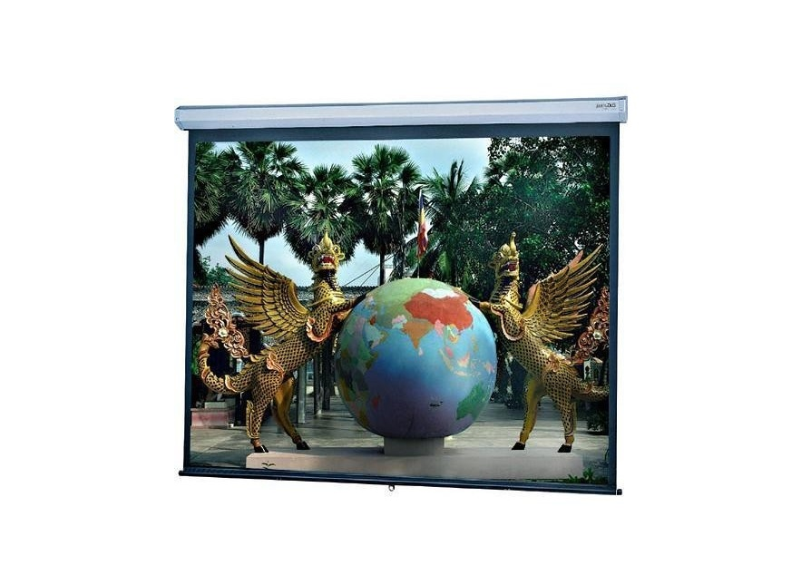 Da-Lite Model C Manual Projection Screen 60x96 113 Diagonal Matte White 34730