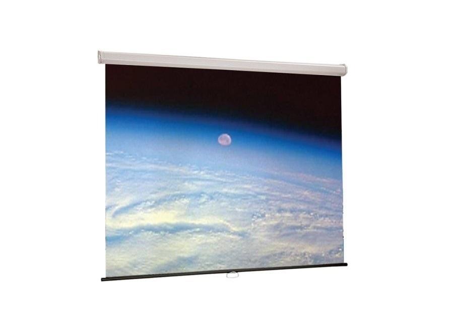 Draper Luma Projection Screen Manual Wall Mount 45x72 85 Diagonal Matte White 207165