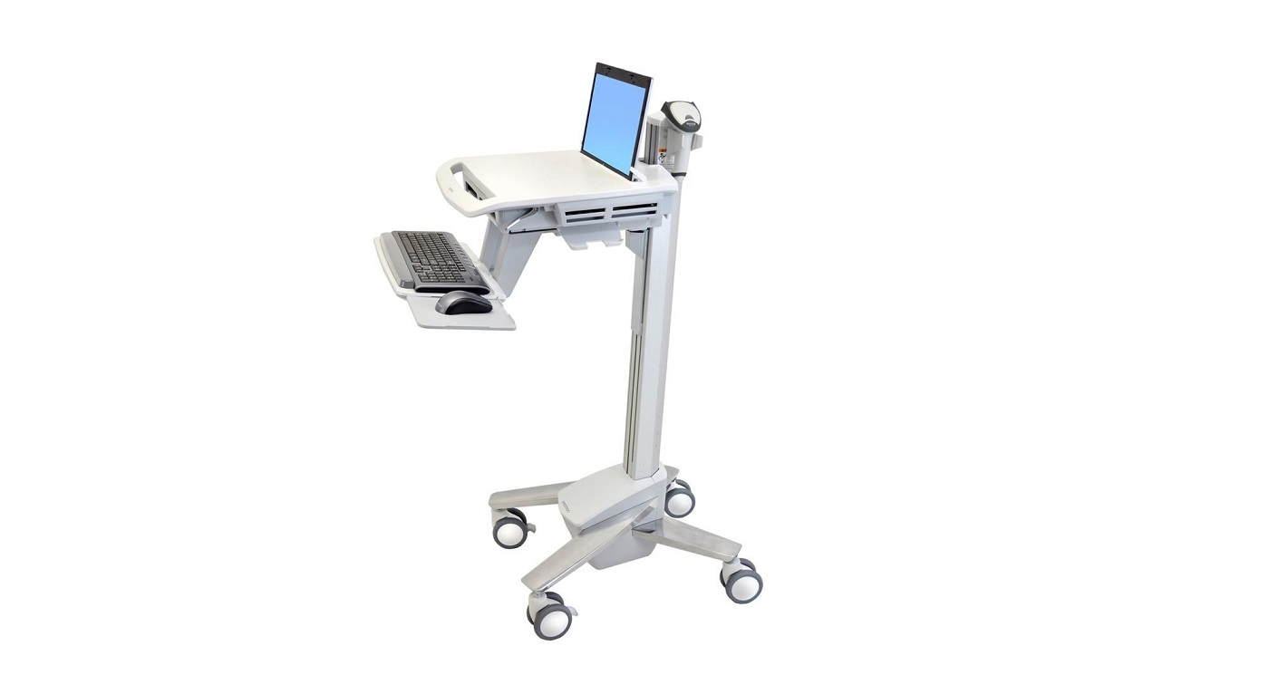 Ergotron Styleview Emr Laptop Cart SV40 SV40-6100-0 SV4061000