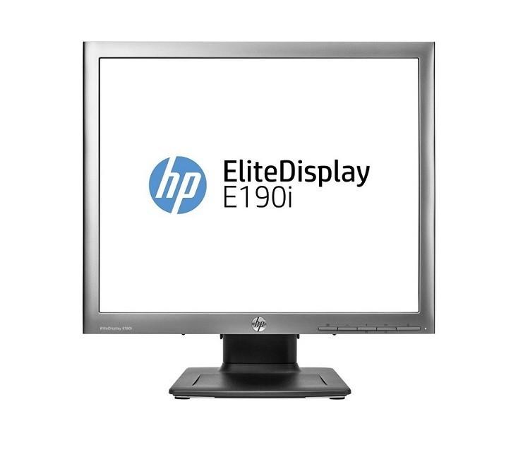 19 HP ELite E190i 1280x1024 VGA DVI-D DisplayPort USB Ultra Slim LED LCD Black Monitor E4U30AA#ABA