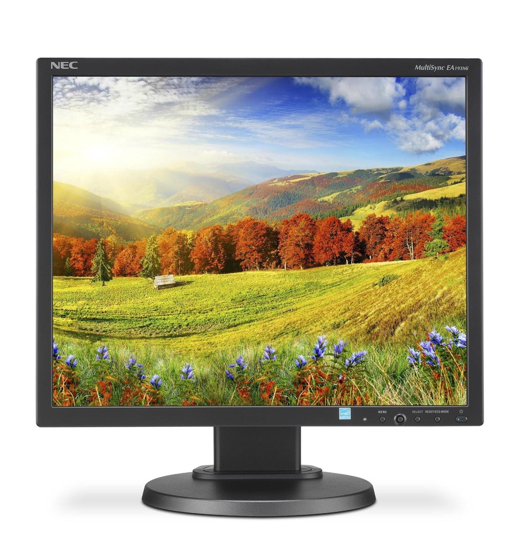 19 NEC WideScreen EA193MI-BK 1024p VGA DP DVI w/ Speakers LED Monitor Black