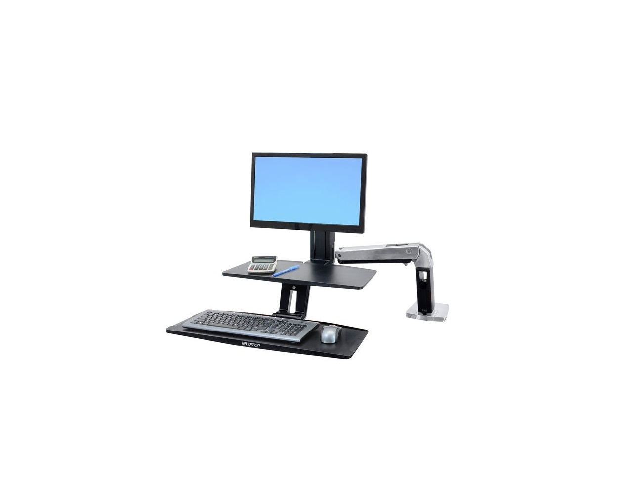 Ergotron WorkFit-A With Suspended Keyboard Single LD 24-390-026