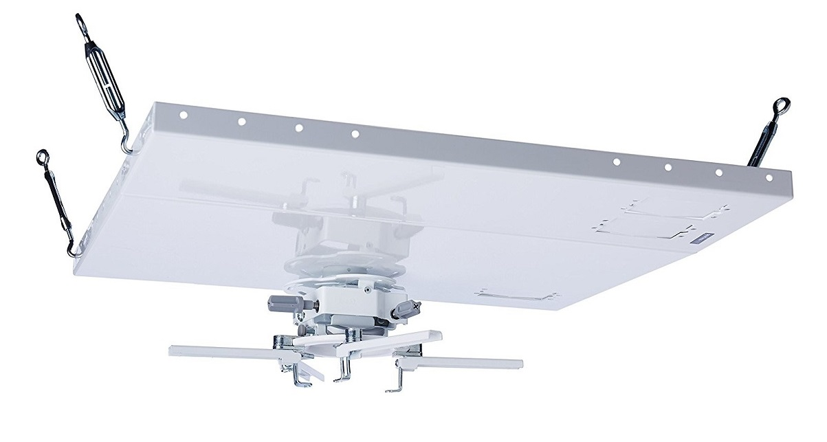 Peerless Mounting Suspension Up To 50lb White For Projector PRGS-455
