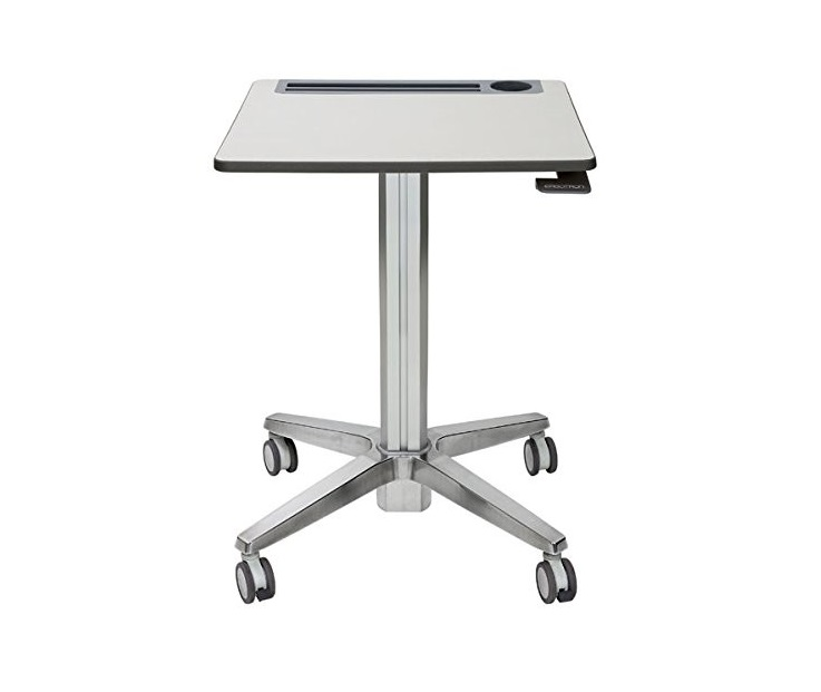 Ergotron 24-481-003 Learnfit Adjustable Standing Student Desk Silver