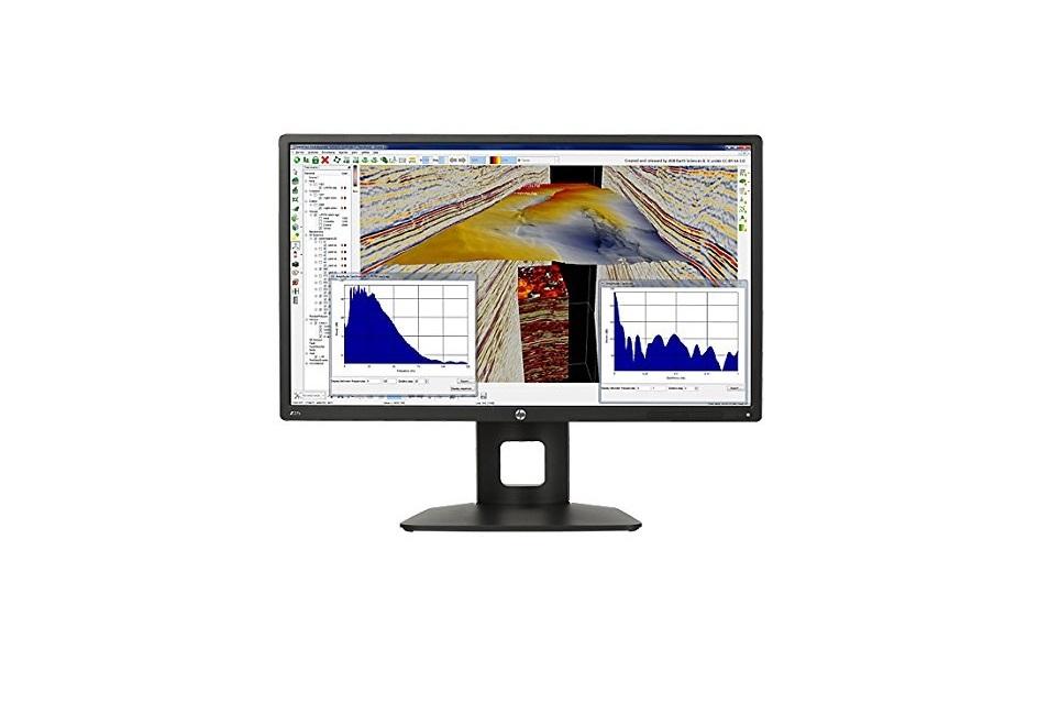 27 HP Business Z27s 4K UltraHD 3840x2160 USB 3.0 HDMI DisplayPort Mini-DP IPS LED Monitor Black J3G07A8#ABA