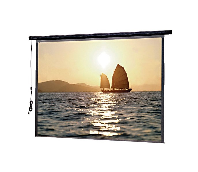 Da-Lite SlimLine Electrol Motorized Projection Screen 60x80 220V 50Hz 72606E
