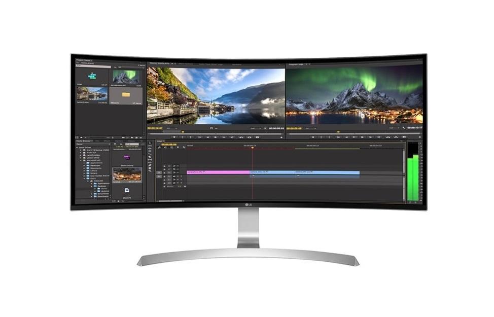 34 LG 34CB99-W UW 3440x1440 USB3.0 HDMI DP Curved IPS Monitor