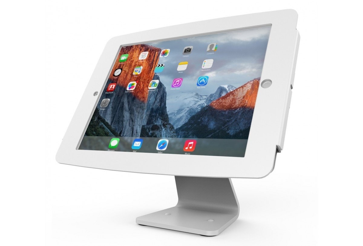 Maclocks Secure Space Enclosure Kiosk With 360 Degree Rotation For Ipad 12.9in 303W290SENW
