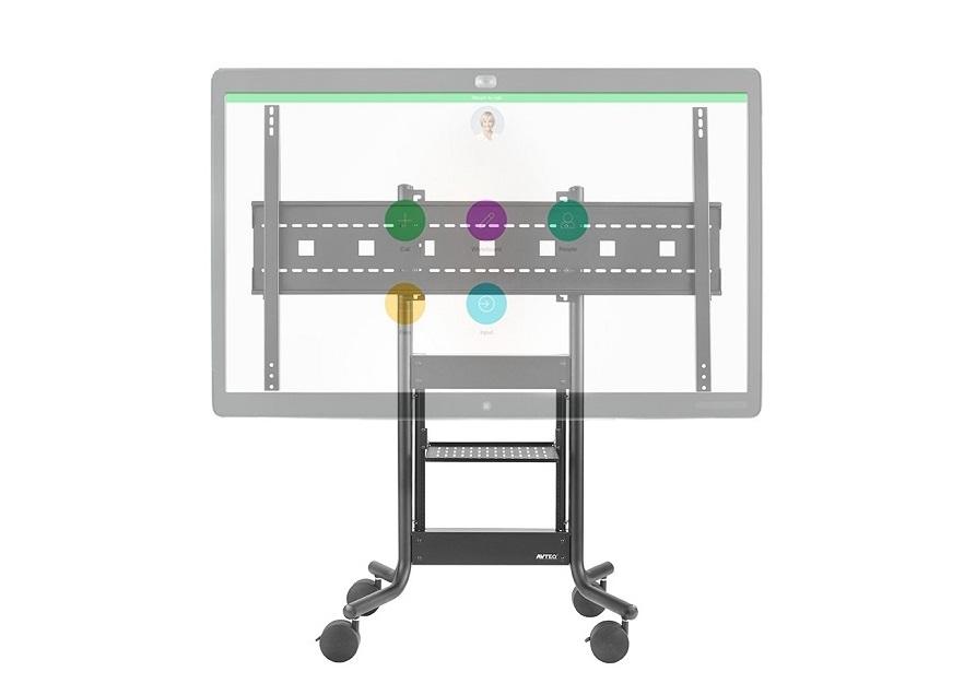 Avteq Single Display AV Cart For 70 Cisco Spark Board RPS-500-CSB70