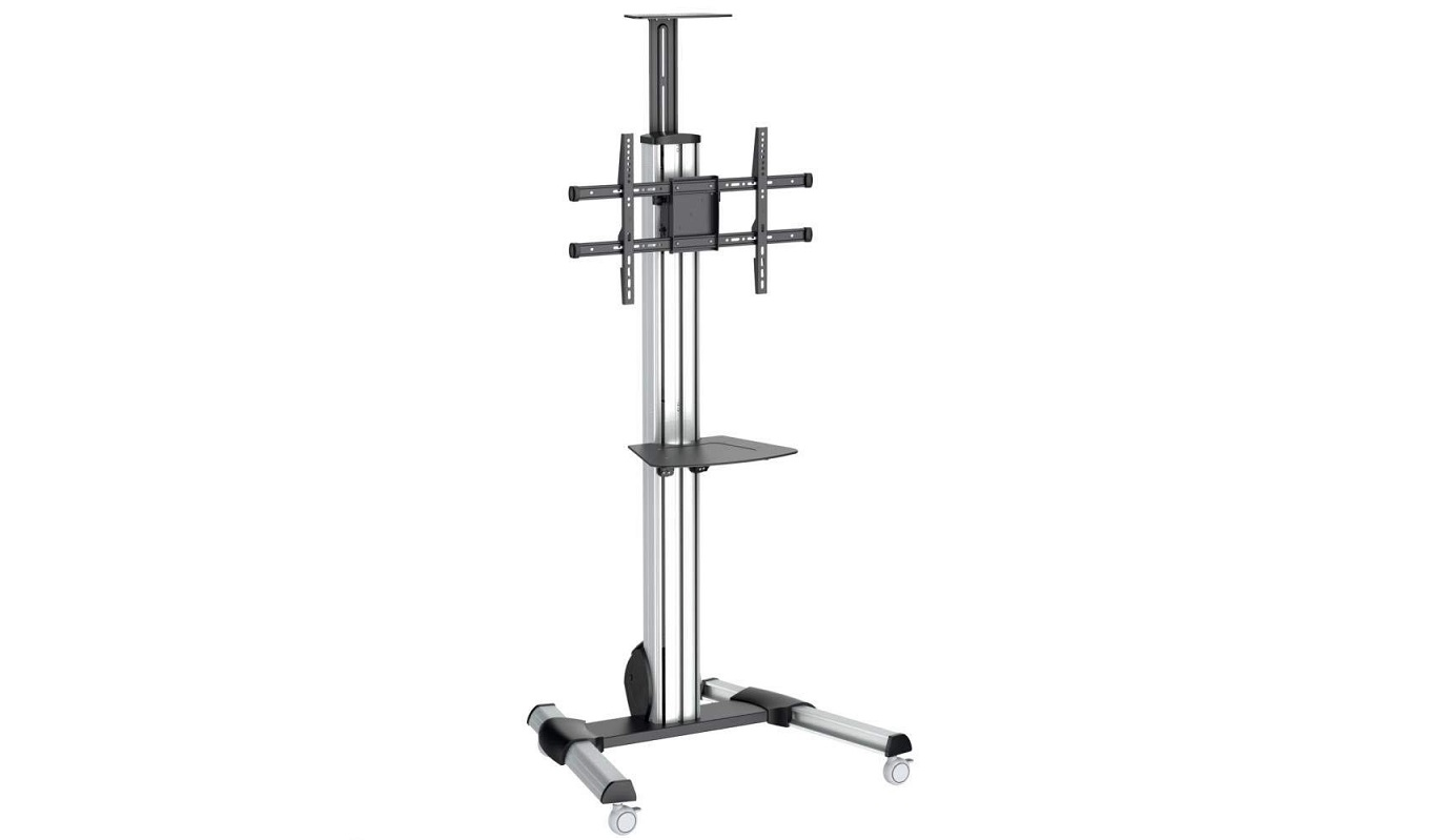 StarTech TV Cart For 32-70in Tvs One-Touch Height Adjustment STNDMTV70