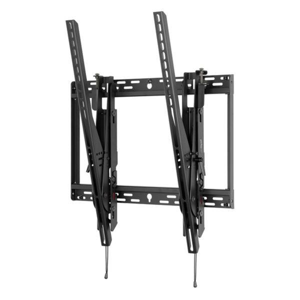Peerless Universal Portrait Tilt Wall Mount For 46 To 90 Displays Black STP680