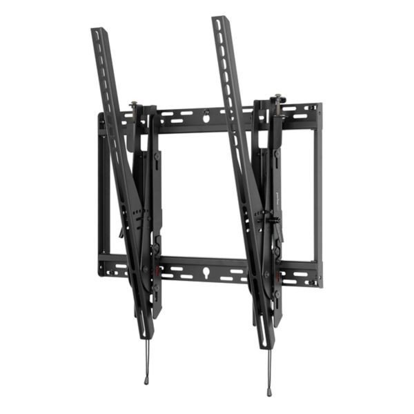 Peerless Universal Portrait Tilt Wall Mount For 46 To 90 Displays Black STP680