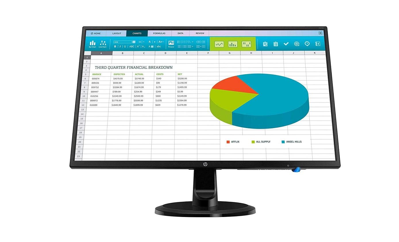 23.8 HP N246V FullHD 1080p VGA HDMI DVI IPS LED Monitor 1RM28A6#ABA