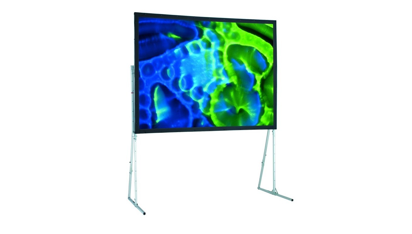 Draper 6' X 6' Ultimate Folding Projection Screen W Legs 241001