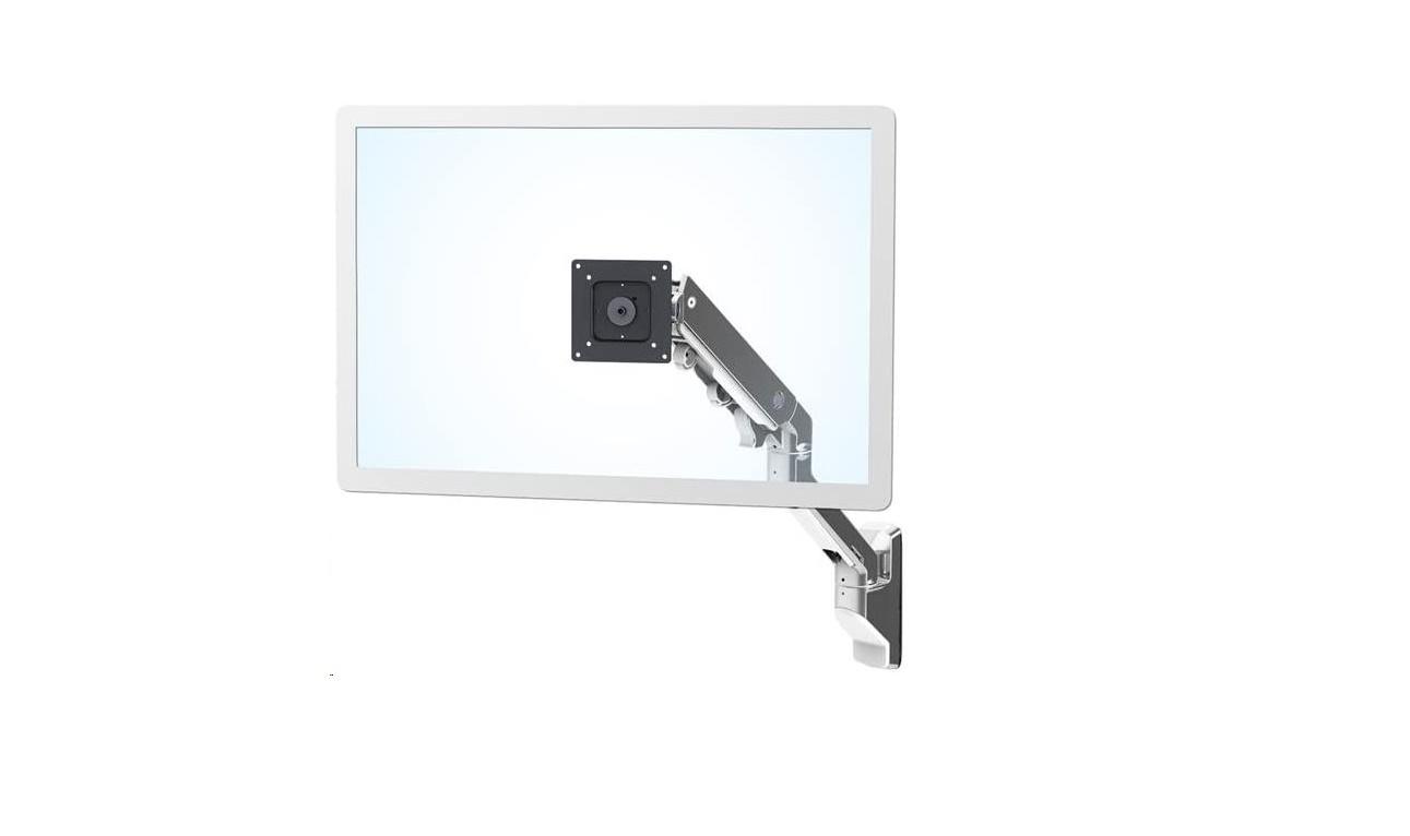 Ergotron HX Wall Monitor Arm Polished Aluminum Up To 42 45-478-026 (New Sealed)