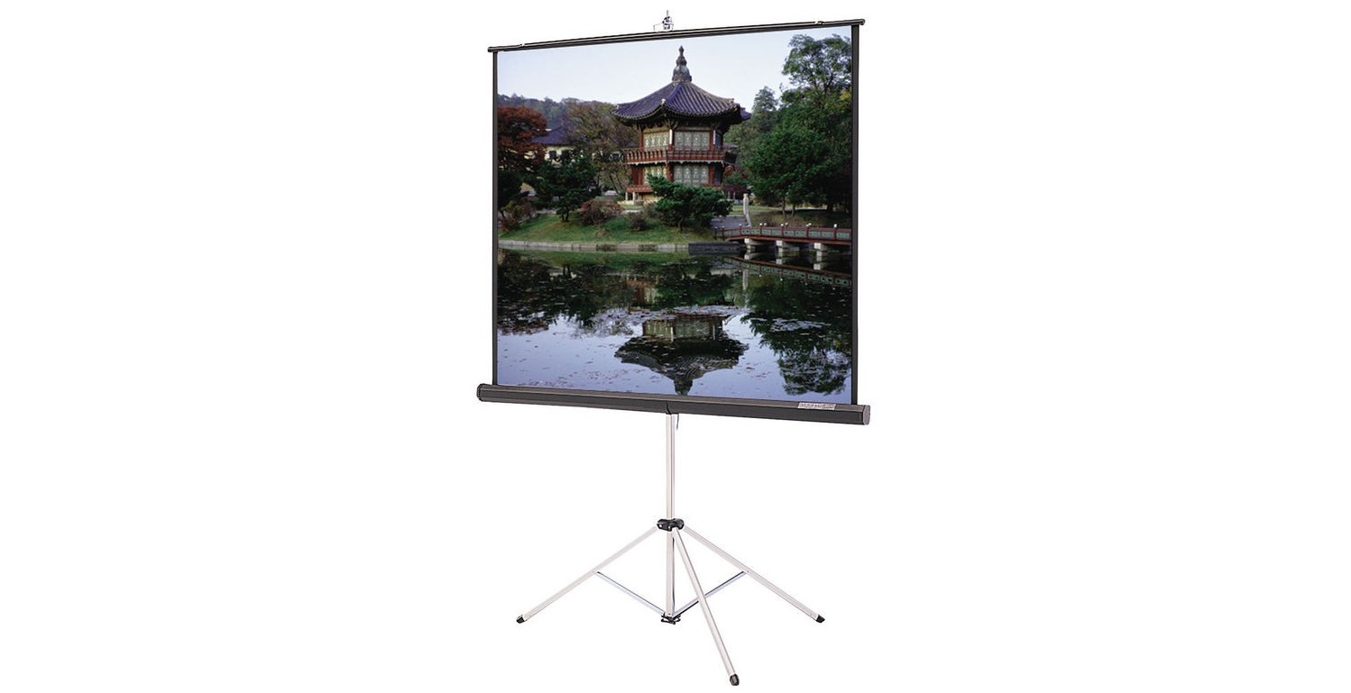 Da-Lite 40138 100 60x80 Portable Tripod Front Projection Screen 40138