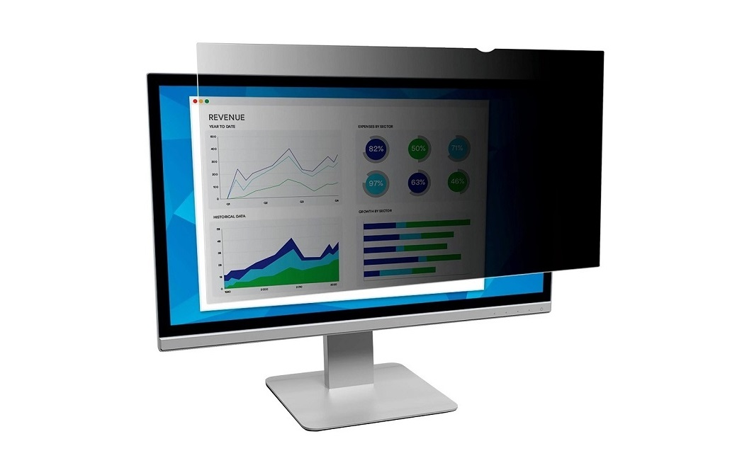 3M Privacy Filter For 21.3 Standard Monitor PF213C3B