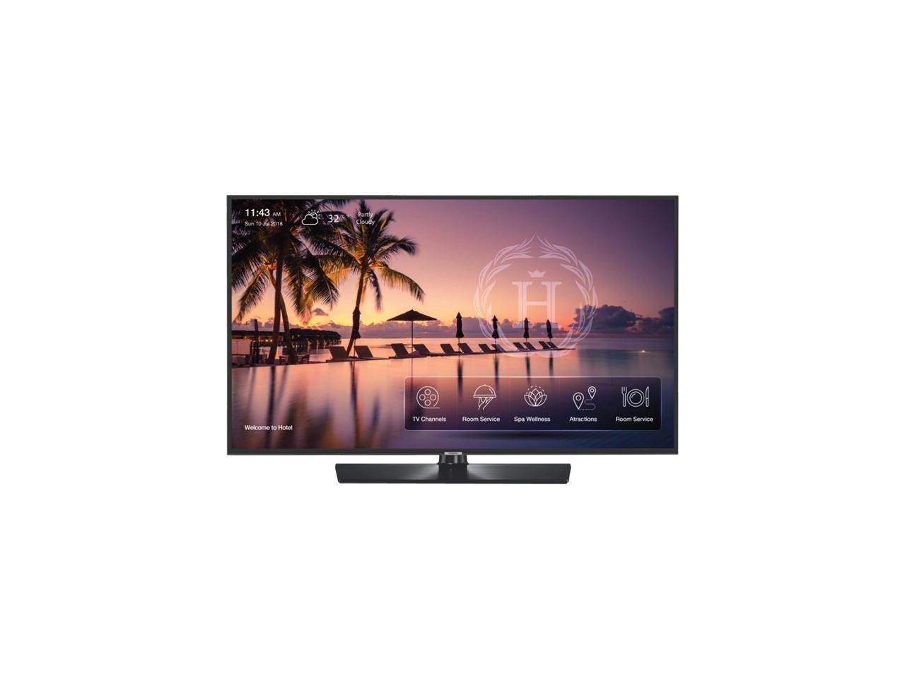 55 Samsung HG55NJ678UF 4K 2160p HDMI USB Non-Smart Commercial TV HG55NJ678UF