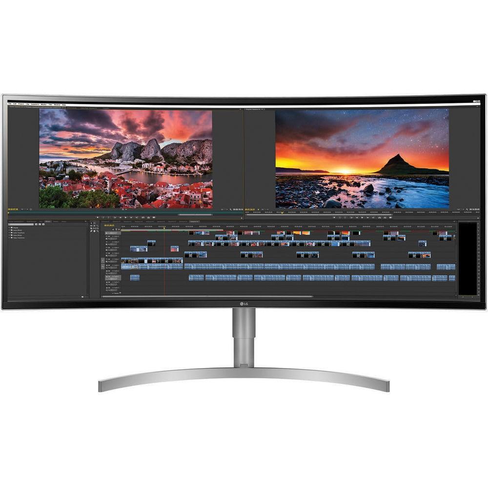 38 LG 38BK95C-W WQHD+ 1600p 21:9 USB DP HDMI IPS Hdr Monitor