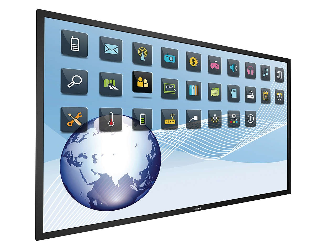 84 Philips 4K UltraHD 3840x2160 LED Commercial Multi-Touch Display BDL8470QT