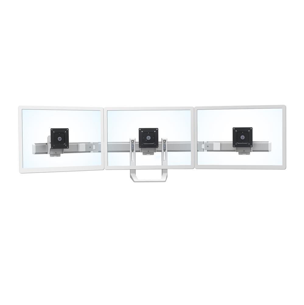 Ergotron 98-009-216 Hx Triple Monitor Bow Kit White