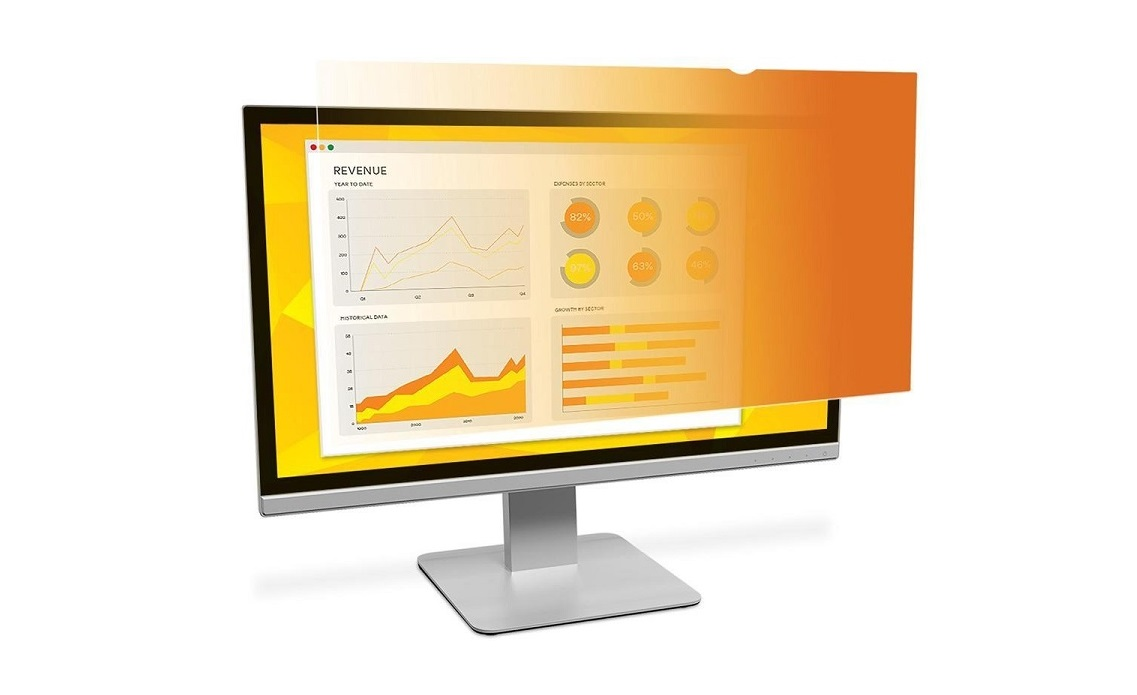 3M Gold Privacy Filter For 23.8 WideScreen Monitor GF238W9B