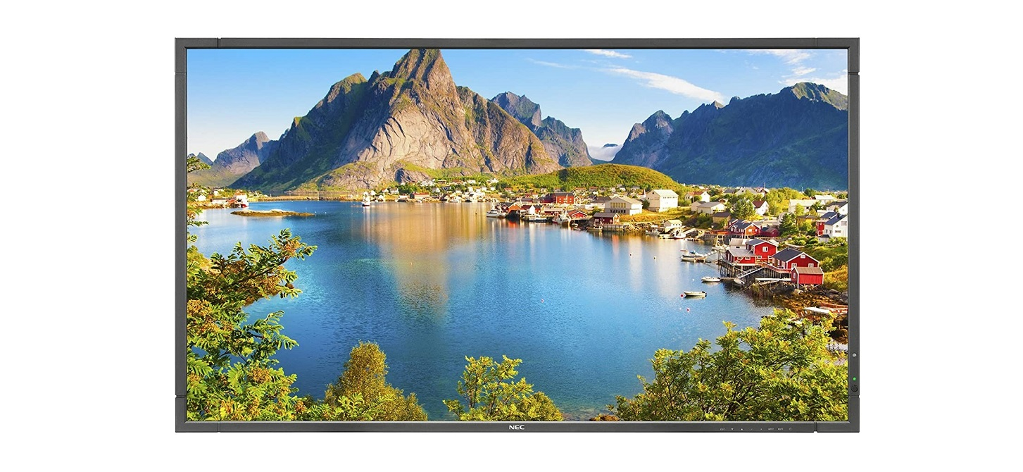 Nec Display 80 E Series Fullhd 1920x1080 Led Lcd Monitor With Integrated Tuner E805-AVT2