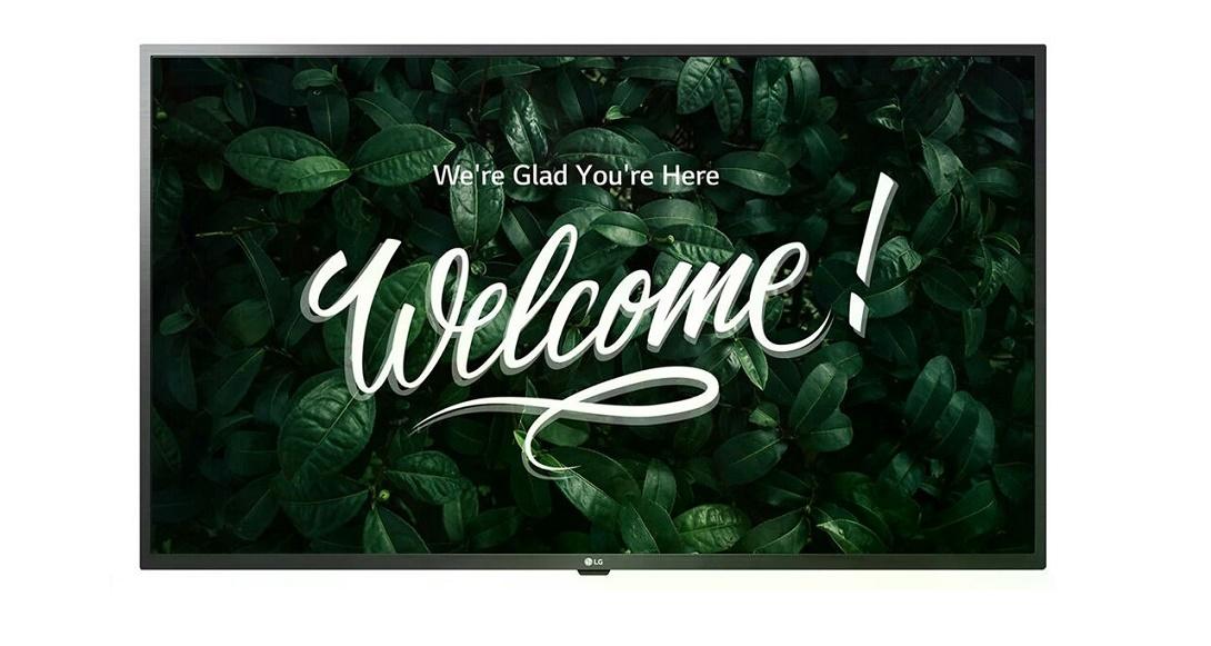 50 LG US340C Series 3840x2160 UHD Commercial LED TV 50US340C0UD