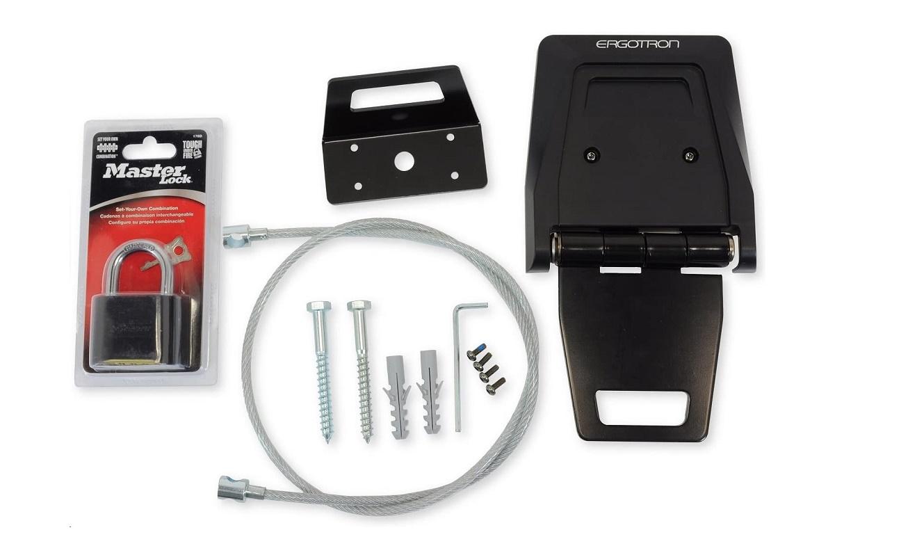 Ergotron Security Bracket Kit For Charging Carts 97-735