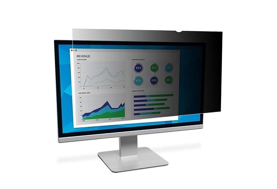 3M Privacy Filter For 20.1 Standard Monitor PF201C3B