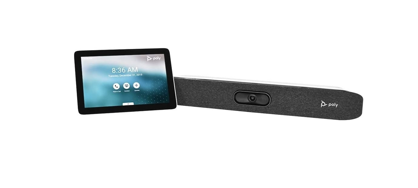 Poly Studio X50 All-in-One Video Bar 4K Conferencing System w/Touch Control 2200-86270-001