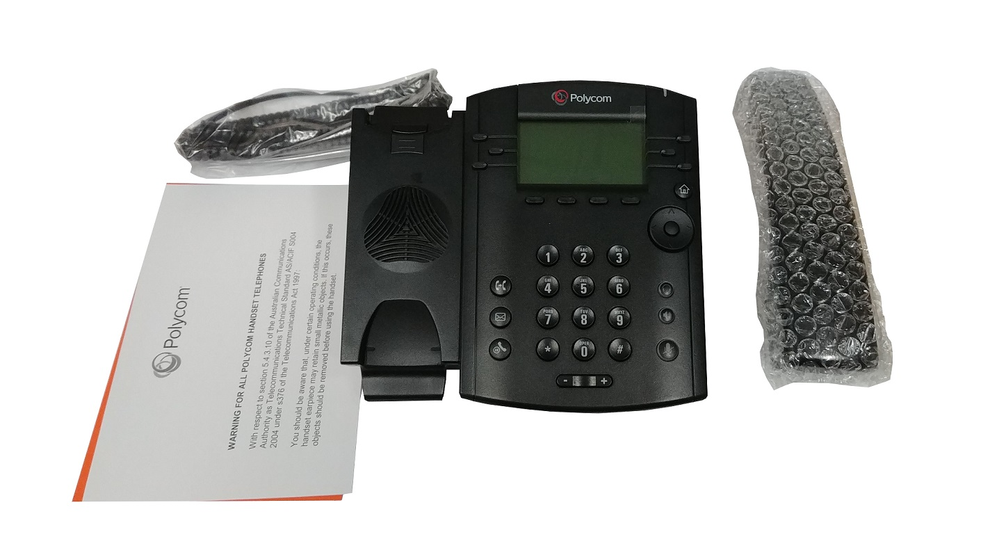 Polycom VVX 311 6 Total Lines IP Phone For Business Edition 2200-48350-019