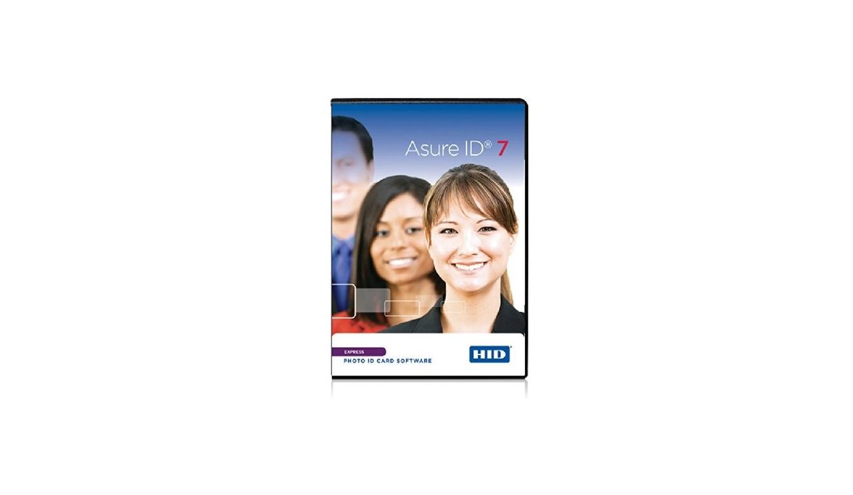 Fargo Asure ID V7.0 Express Photo ID Card Software 086412