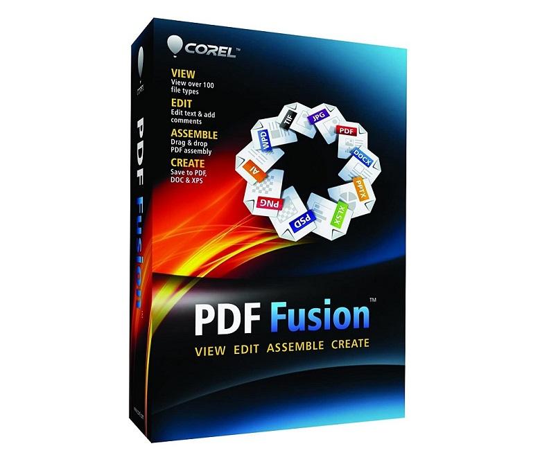 Corel PDF Fusion Document Management Suite En/French CPDFF1EFMB