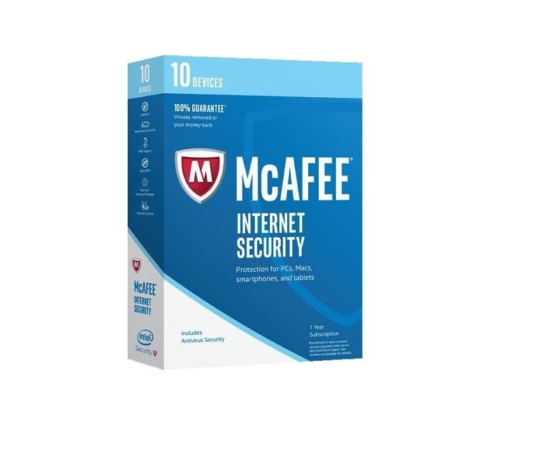 Mcafee Antivirus 2017 For 10 Device MIS17EDL0RAA