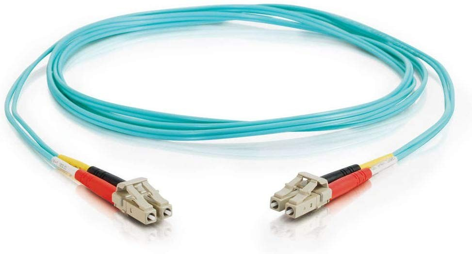 Cables To Go C2G 33047 LC-LC 10G OM3 Dpx Mm Fiber Cable Aqua