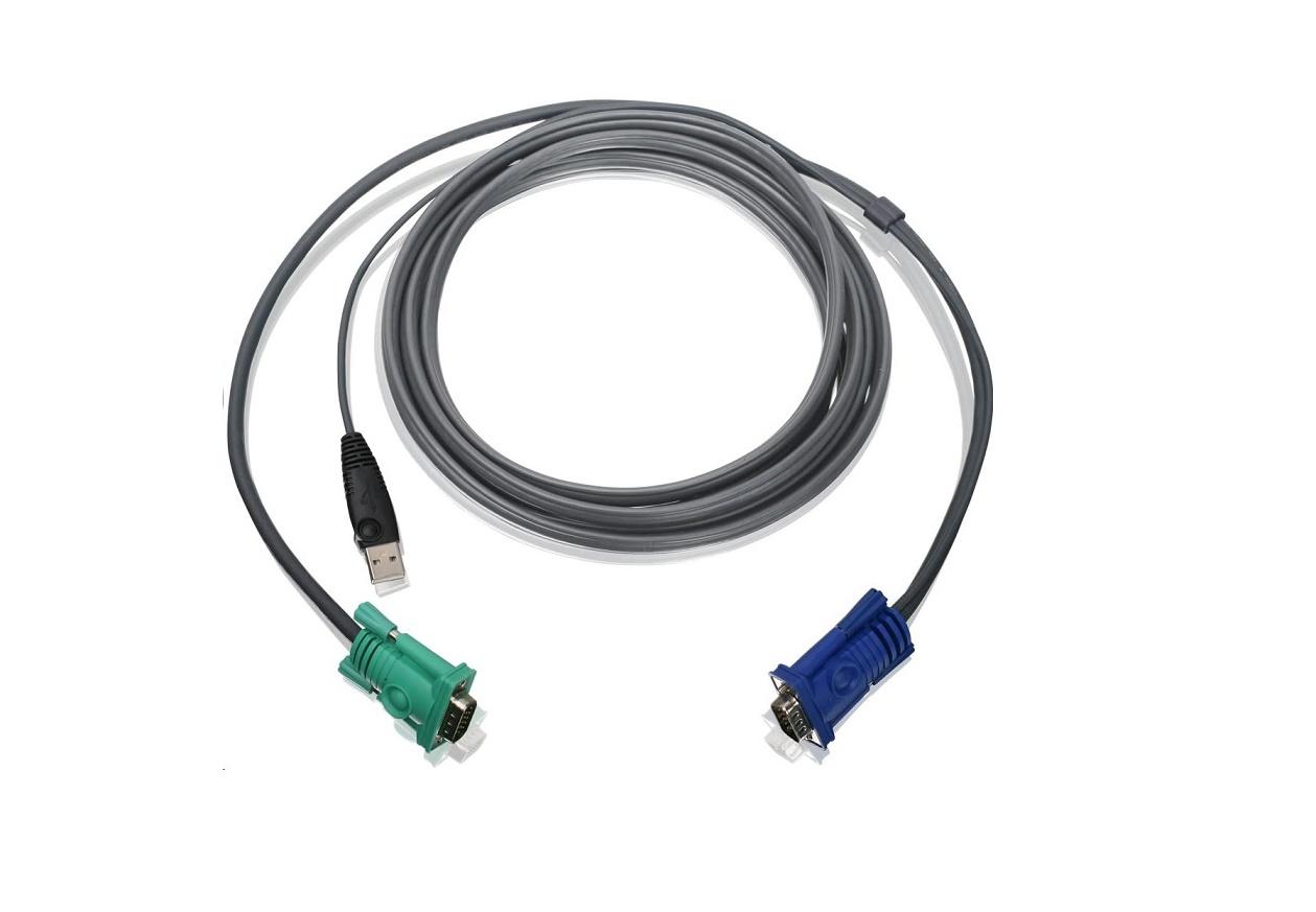 Iogear 10ft Usb Kvm Cable For Use W GCS1716 G2L5203U