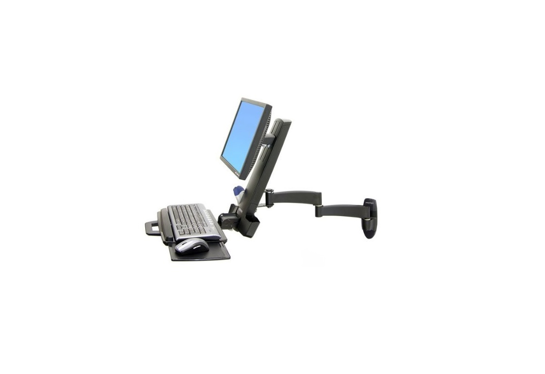 Ergotron 200 Series Combo Black Arm Mounting Kit For LCD Display 24 45230200 45-230-200