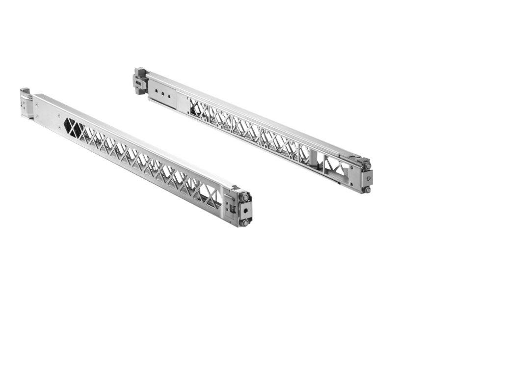 HP X410 E-series 1U Universal 4-POST Rack Mounting Kit J9583A